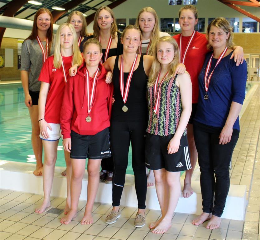 Tommerups vandpolo kvinder vinder sølv